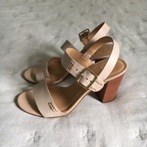 Seychelles champion nude heeled sandals
